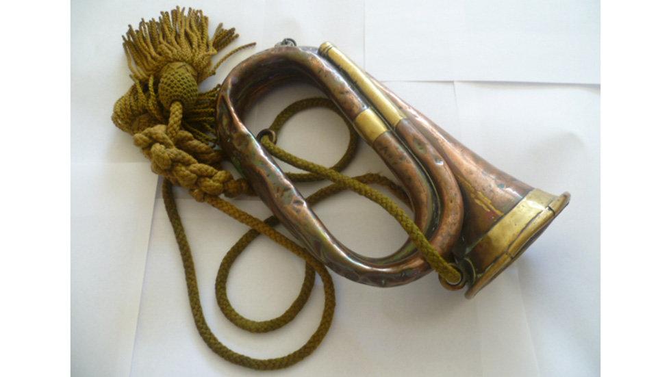 Ww1 Copper/ Brass Bugle.