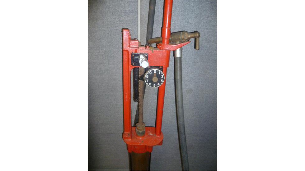 Wayne Skeleton Petrol Pump