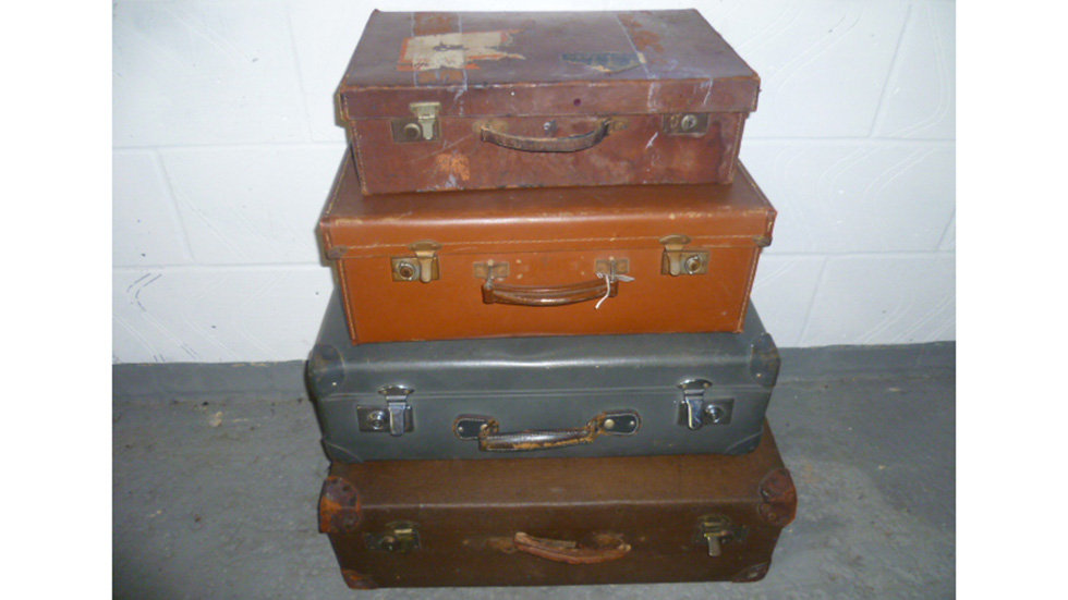 Vintage Luggage Various Sizes