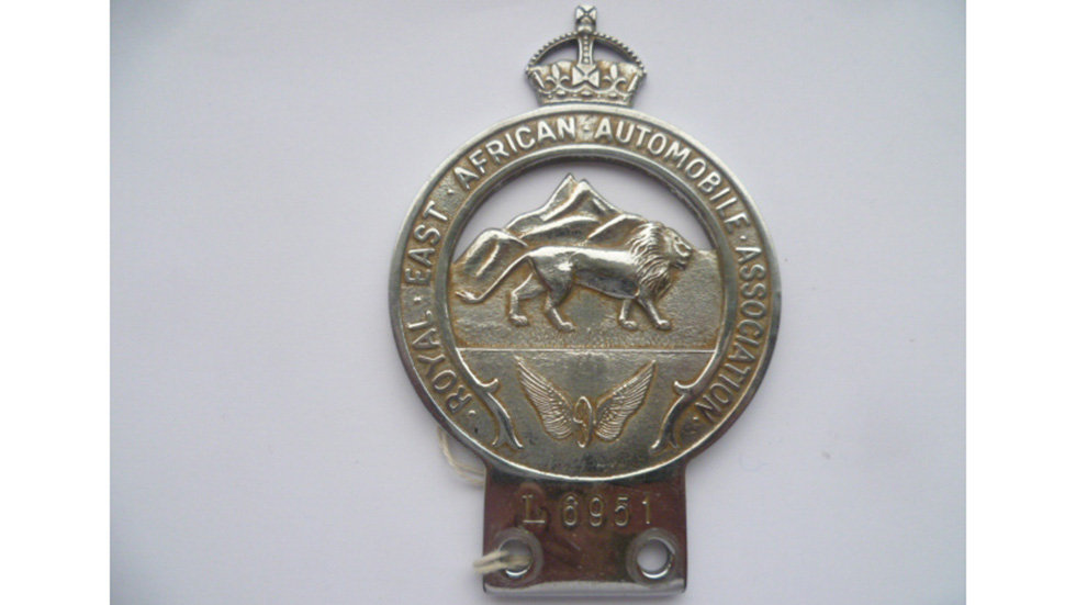Royal East African Automobile Association Badge