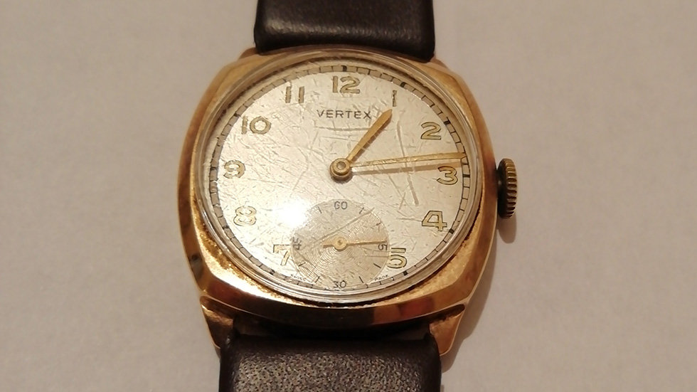 Vertex 9crt Gold with Subdial