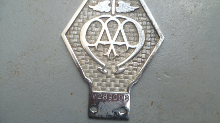 AA Commercial Badge