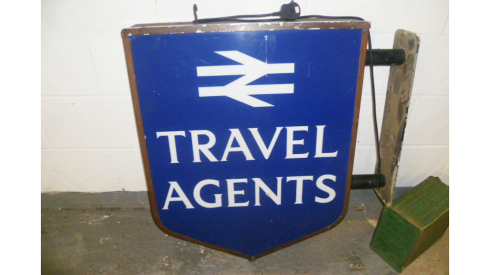 British Rail Travel Agent