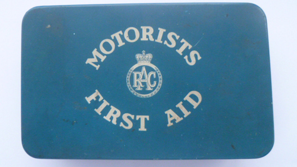 RAC Motorists First Aid Kit 1960's