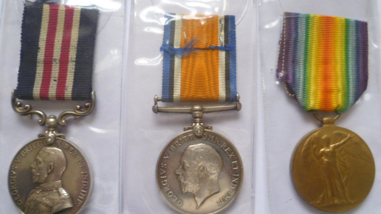 WW1 Military Medal Group