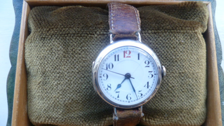 WW1 Officers Rolex Trench Watch