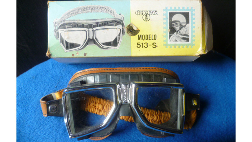 Racing Goggles Vintage Angular By Climax