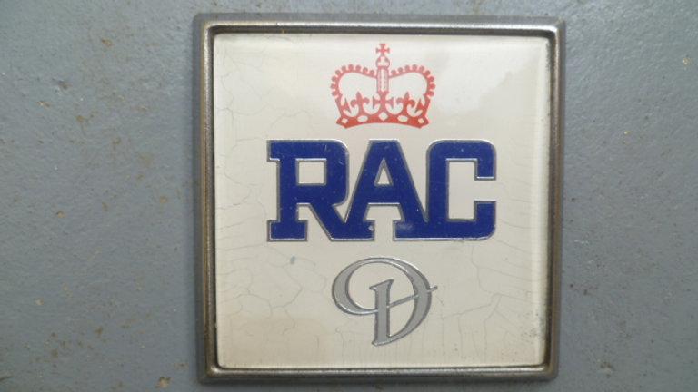 RAC Daimler Badge Circa 1970's