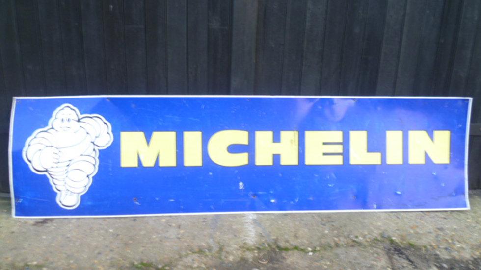 Michelin Tin Sign Circa 1980s