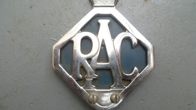 RAC Diamond Badge Circa 1950's