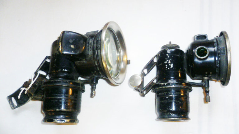 2 Lucas Carbide Lamps