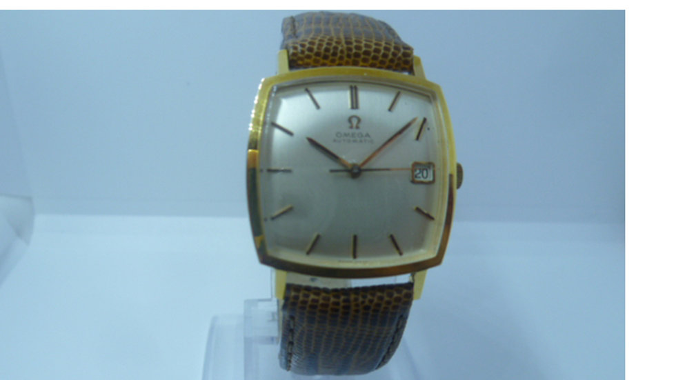 Omega Automatic Cushion Case , Quick Date Set 565 Movement Cica 1967