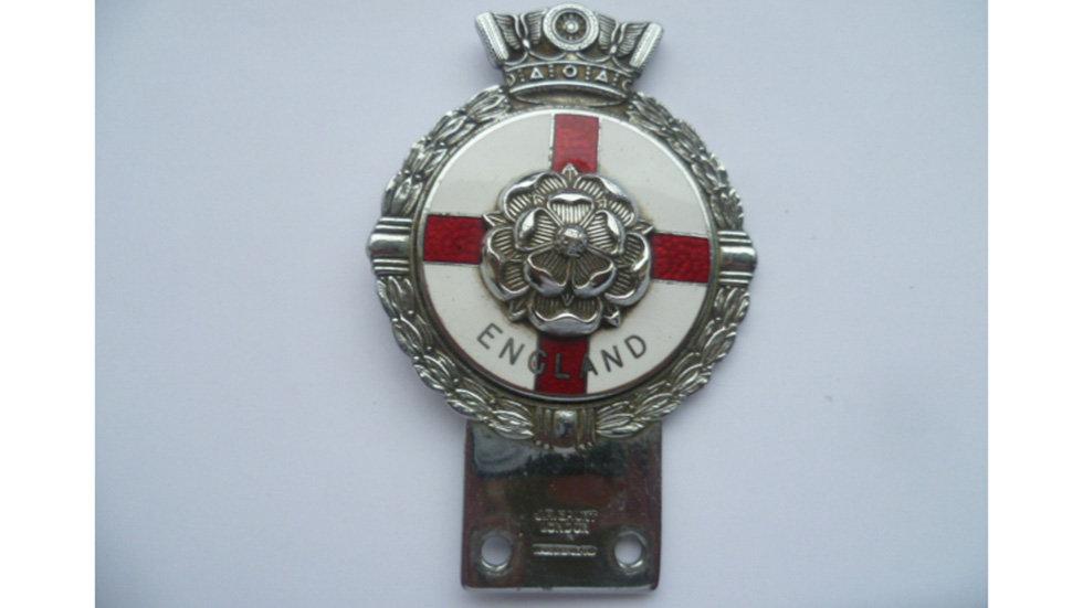 English Rose Badge