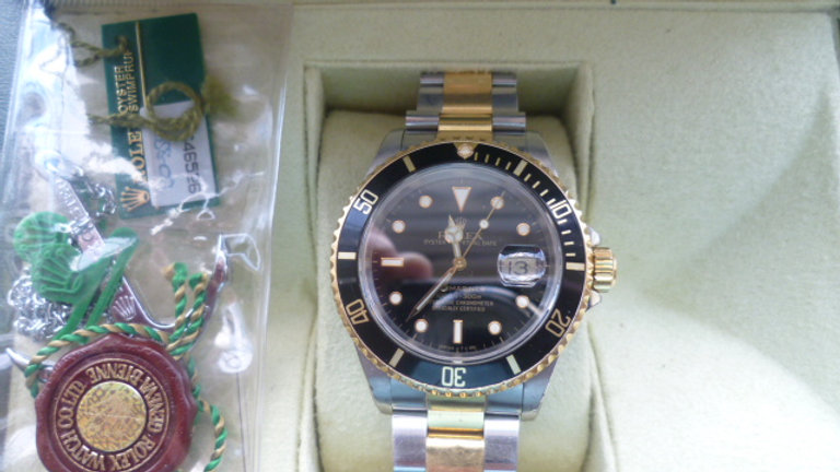 Rolex Submariner Gold/Stainless Steel 1991