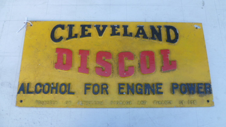Cleveland Discol Sign