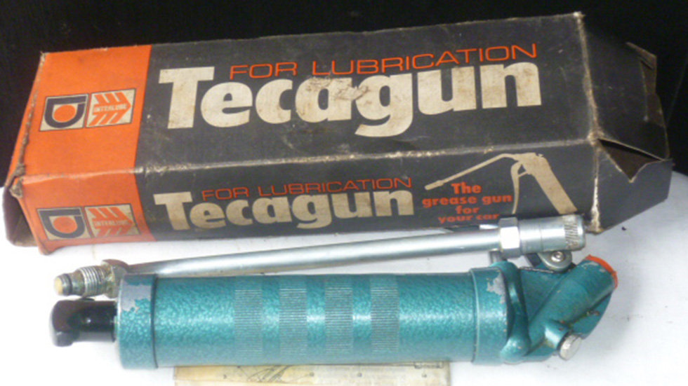 Tecagun Greaser In Original Box