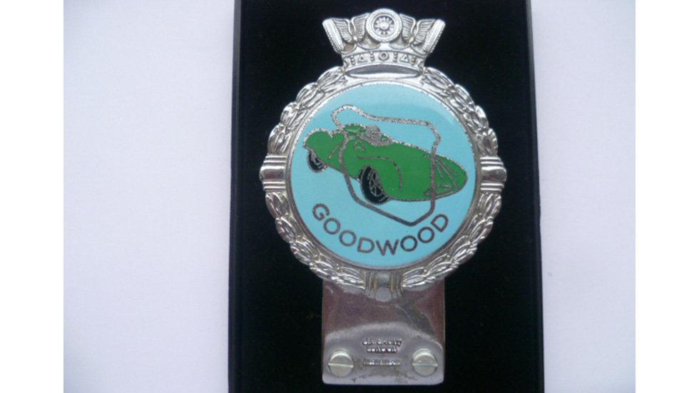 GoodWood Circuit Badge
