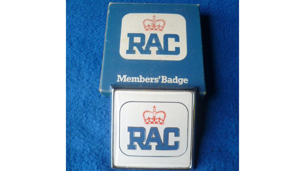 RAC Members Badge 1970