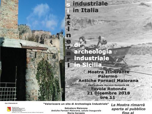 A Palermo, tavola rotonda per valorizzare un sito di Archeologia Industriale