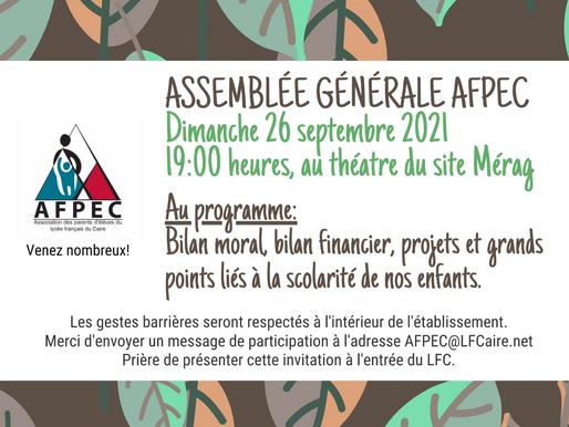 Invitation - Assemblée Générale