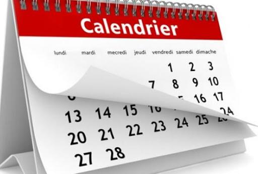 Le calendrier scolaire 2021 - 2022