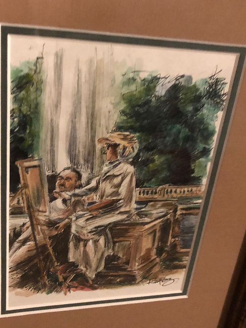 John Singer Sargent Study