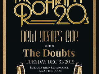 Ring in the New Year with The Doubts at Failte Irish Pub!