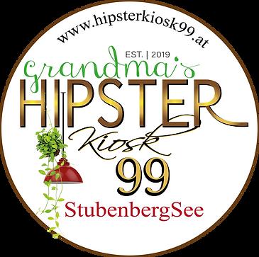 Grandma#s Hipster Kiosk Logo