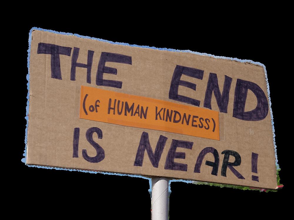 umanity for all! Foto von  Leonhard Lenz | Wikimedia Commons  (Das Foto entstand im Juli 2018 auf einer Demonstration in Berlin für Seenotrettung)
