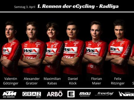 1. Rennen der eCycling-Radliga