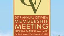 20017 Annual Membership Meeting