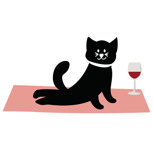 PRIVATE Yoga + Wine Online Experience