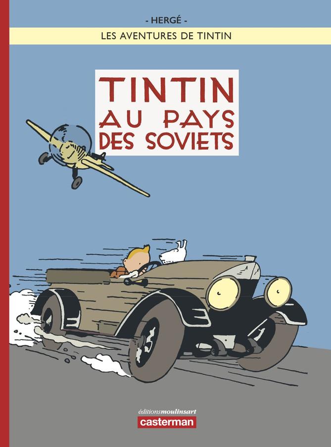 Tintin au pays des Soviets. Couleur ou pas couleur ?