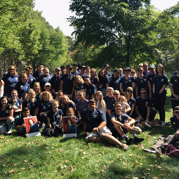 Team AG5 AFSP Walk 2017