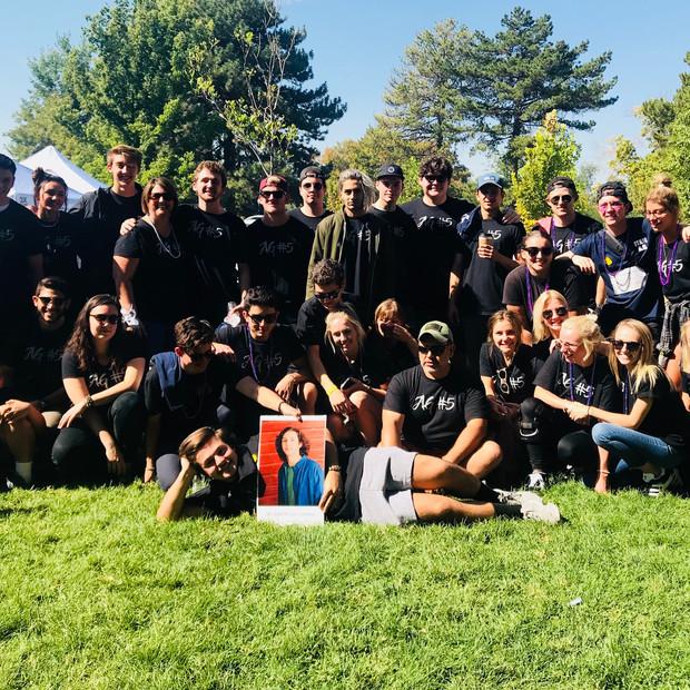 Team AG5 AFSP Walk 2018