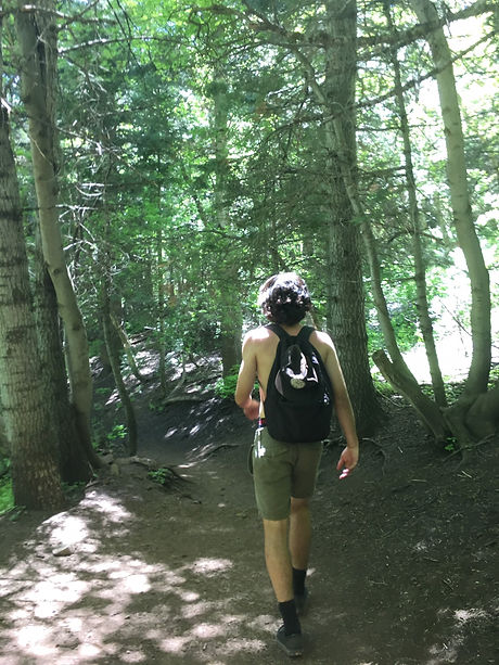 Andrew in woods.JPG