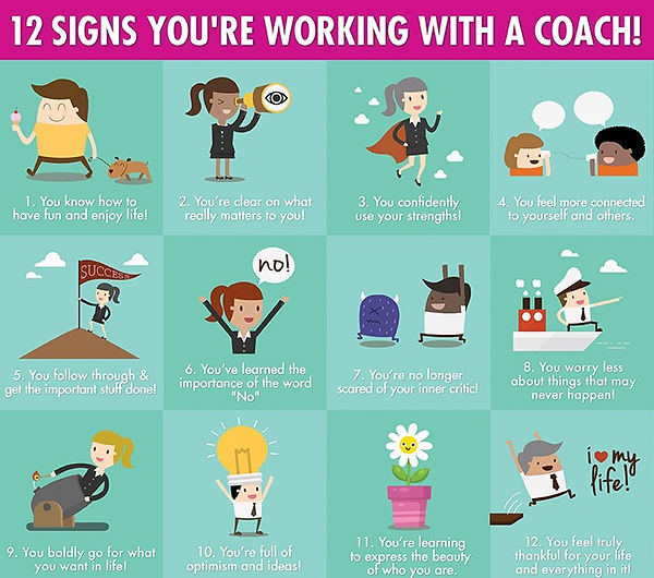 12 Signs You're Working with a Personal Coach