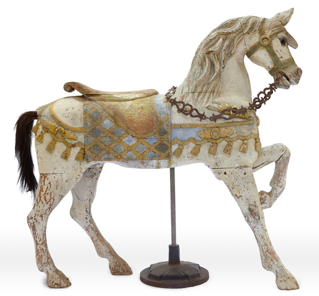 Early Charles Loof Carousel Horse