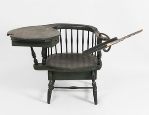 LYMAN BEECHER (H. B. Stowe) Tracy Windsor Chair