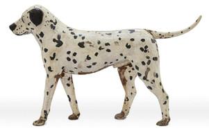 Life Size Cast Iron Dalmatian Dog