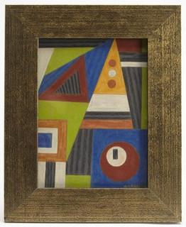 Emil James Bisttram work on paper 1941