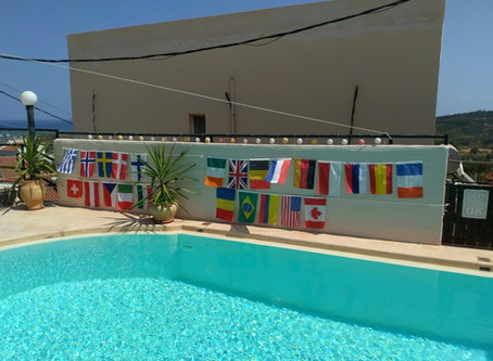 New flags on the wall !