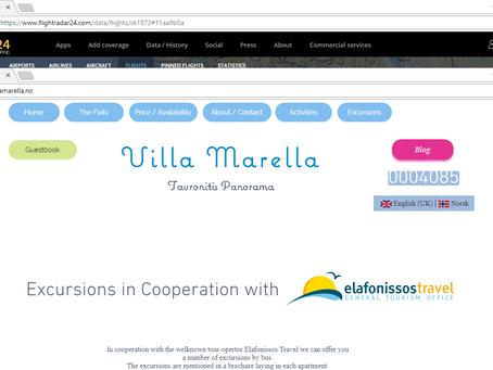 Excursions from Villa Marella !