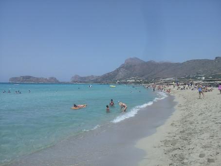The wonderful Falassarna Beach