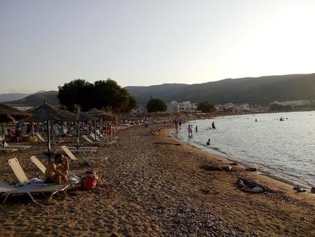 Plaka Beach in Kissamos