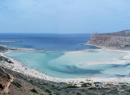 The Balos lagoon !