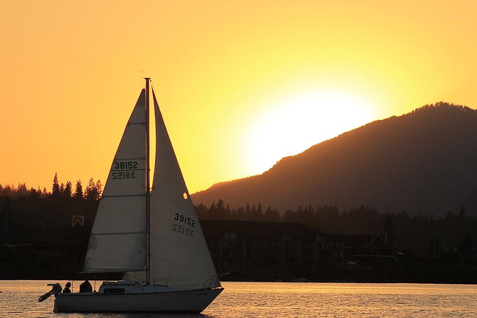 Sunset & Sails