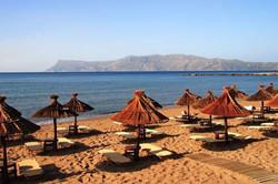 Maria-stranden i Kissamos.