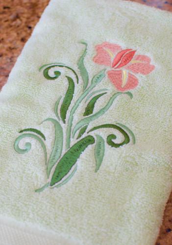 Tulip Hand Towel