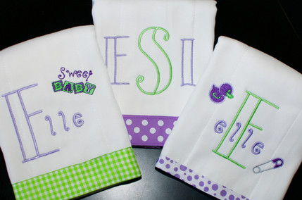 Purple/Green Cleanup Cloth Set